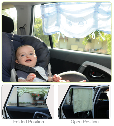 Baby Car Sunblind